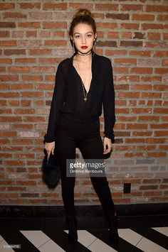 Model Gigi Hadid attends IMG Models Celebrates The Sports Illustrated, Swimsuit issue at Vandal on February 15, 2016 in New York City.