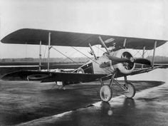 Sopwith Camel F.1 F6394, right front quarter view. (Royal Air Force)