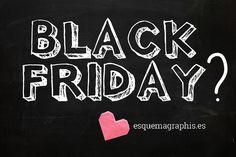 ¿Se puede saber que tiene de negro un viernes en el que comprar es mucho más barato? #BlackFriday