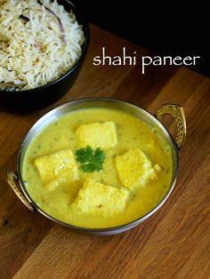 shahi paneer recipe   how to make restaurant style shahi paneer - http://hebbarskitchen.com/restaurant-style-shahi-paneer-recipe/