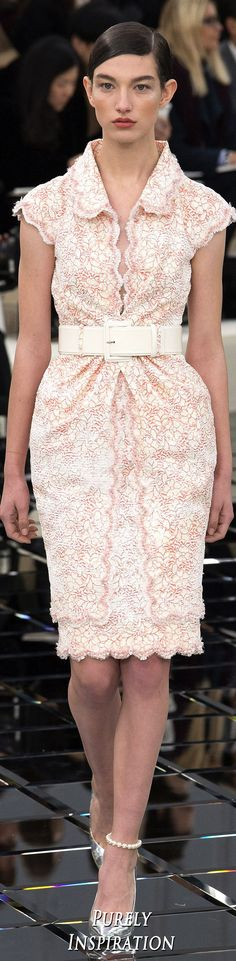 Chanel SS2017 Haute Couture Women's Fashion | Purely Inspiration
