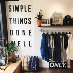 Never forget what you're in it for. Always simple things done well at The Union Project.