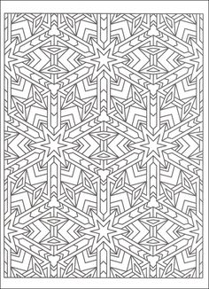 Tessellations Worksheets To Color - Coloring Pages for Kids and