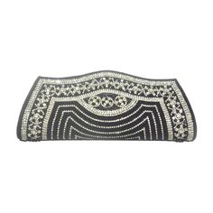 Shehnai Handmade Clutch in Black - SVEB0027 - Clutches by Shop Vcommerce-Bags-Shop Vcommerce