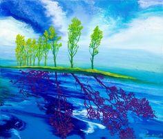 Shadow11-1 / Oil on canvas, 2011 / 45 x 53 cm (17.7 x 20.9 inch)