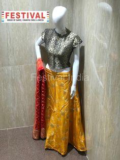 Festival lalgate surat Waist Skirt, High Waisted Skirt, Choli Dress, Facetime, Saree, Gowns, Crop Tops, Live, Skirts