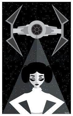 Princess Leia sketch by Ashley Taylor!  www.LoveAshleyDesigns.Tumblr.com