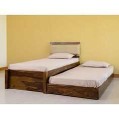Belle Single Bed with Sliding Underbed