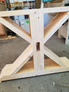Farm Table Legs, Diy Table Legs, Farmhouse Kitchen Tables, Farm Table Diy, 2x4 Table, Wooden Table Diy, Diy Furniture Projects, Diy Furniture Plans, Trestle Table Plans