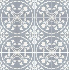 Pinned from www.historiske.no Historic tiles Paris style
