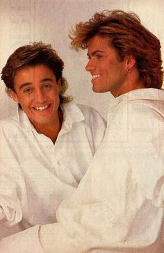 Pretty Men, Beautiful Men, Beautiful People, Tv Show Music, 80s Music, I Cried For You, George Michel, Andrew Ridgeley, George Michael Wham