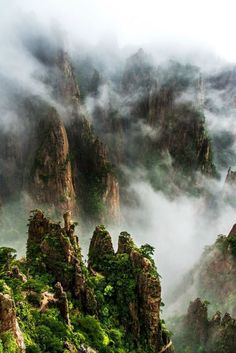 26 Ideas Nature Paysage Zen For 2019 What A Wonderful World, Beautiful World, Beautiful Places, Mother Earth, Mother Nature, Chinese Mountains, Landscape Photography, Nature Photography, Fantasy Landscape