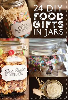 24 #DIY Food Gifts in Jars