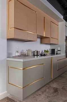 6 Inspired Tips AND Tricks: Copper Kitchen Decor Modern kitchen decor shelves toilets.Kitchen Decor Black Worktop kitchen decor diy home. Diy Kitchen, Kitchen Decor, Kitchen Cabinets, Kitchen Ideas, Gold Kitchen, Diy Cabinets, Vintage Kitchen, Interior Design Boards, Interior Design Kitchen
