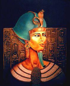 Portrait de pharaon.