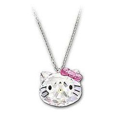 Hello Kitty Crystal Pendant