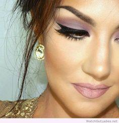 #Wonderful princess makeup look idea