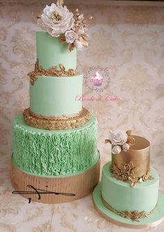 I love emerald green by Bonboni Cake