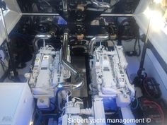 Siebert Yacht Management Engine repower