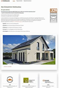 Deutsche Holzbau-Gütegemeinschaften gehen mit gemeinsamer Homepage online - http://www.immobilien-journal.de/hausbau-nachrichten/deutsche-holzbau-guetegemeinschaften-homepage-online/