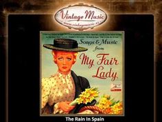The Rain In Spain - The Embassy Singers & Orchestra (WEP1005) May '58