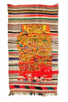 Berber rug Boucherouite Morocco - Alberto Levi Gallery