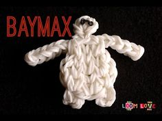 How to Make a Rainbow Loom Big Hero 6 Baymax Loom Love, Fun Loom, Rainbow Loom Tutorials, Rainbow Loom Patterns, Loom Bands Tutorial, Rubber Band Crafts, Big Hero 6 Baymax, Loom Craft, Rainbow Loom Bracelets