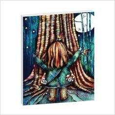 Karin Taylor Tree Hug Framed Canvas Print Artist Lane | Wayfair
