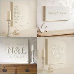 White On White Canvases Make A Great Addition To Any Shelving Arrangement.