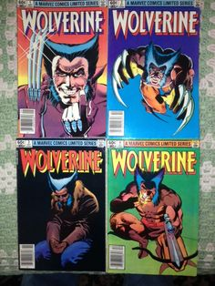 WOLVERINE  issues #s 1-4.........