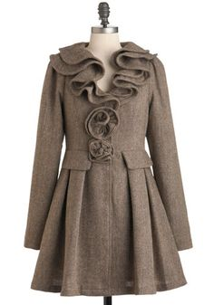 Cocoa Shavings Coat