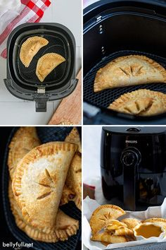 These Air Fryer Apple Hand Pies are portable and delicious! With an easy apple pie filling and flaky crust, they're such a fun Fall dessert with no slicing and little mess. For an added treat, dunk them in homemade caramel sauce! Air Fryer Recipes Dessert, Air Fryer Oven Recipes, Air Frier Recipes, Homemade Apple Pie Filling, Homemade Caramel Sauce, Peach Pie Recipes, Apple Recipes, Almond Biscotti Recipe Easy, Convection Oven Recipes