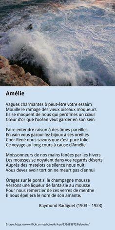 Raymond Radiguet – Amélie