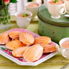 Honey and Orange Madeleines inspired by Great British Bake Off Episode 9 | Good Housekeeping