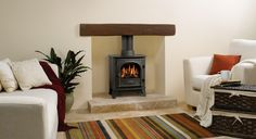 Stockton 5 Gas Stoves - Gazco Contemporary Stoves, Traditional Stoves