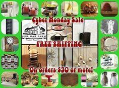 CYBER MONDAY SPEND 30.00 receive free shipping and handling. Visit http://spunkey.pineoakfarm.com