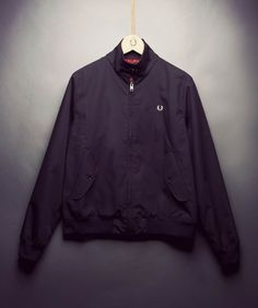 Fred Perry - Harrington Jacket With Stewart Tartan