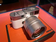 White Leica M9-P with silver chrome 50mm f0.95 Noctilux Aspherical lens $31,568