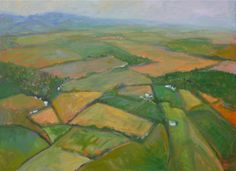 aerial landscapes paintings - Google Search