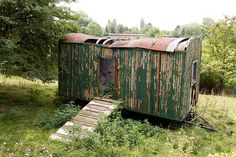 Shepherds Hut, Gypsy Wagon, Outdoor Furniture, Outdoor Decor, Tiny House, Restoration, Alter, Garden, Nature
