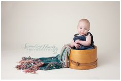 Cutie!  Six Month Session ~ Boy, {Knoxville Children Photographer} www.sproutingheartsphotography.com