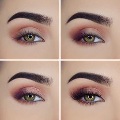 """Paulina na Instagramie: """"Step by step using @toofaced Sweet Peach Palette 🍑💕shades used: Georgia, Candied Peach, Delectable, Bellini Lashes: @worldwidelashes in…"""""""