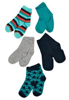 www.nemitos.com pack de 5 pares de calcetines para niños de la marca name it