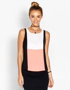 Image for Colour Me Happy Tank from Dotti