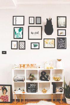 DIY: Aprenda a fazer uma linda estante de nichos   http://omundodejess.com/-0001/11/diy-estante-de-nichos/