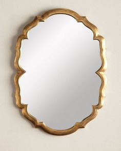 H8ATL Jamie Young Centerpoint Brass Scalloped Mirror  size 28 x 40 $450.00