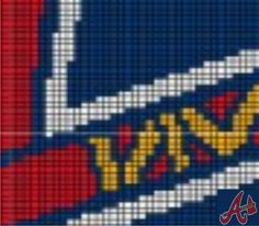 Atlanta Brzves - A1 via Loopaghans Custom Crochet. Click on the image to see more!