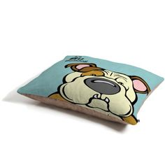 DENY Designs Angry Squirrel Studio Bulldog 13 Pet Bed * To view further for this item, visit the image link.