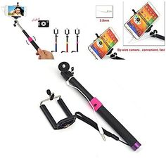 Eruner Extendable Self-portrait Bluetooth Selfie Monopod Stick for iPhone 6 Plus / 6 / 5 5s 5c / 4 4s, Samsung S3 S4 S5 / S4 S5 Mini / Note 2 3 4, Blackberry HTC Sony LG, IOS Android and Other Smartphone (Black) Eruner http://www.amazon.com/dp/B00S15U94I/ref=cm_sw_r_pi_dp_dP9bvb1WSHTDQ