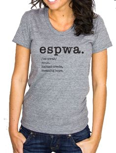 espwa. women's t-shirt